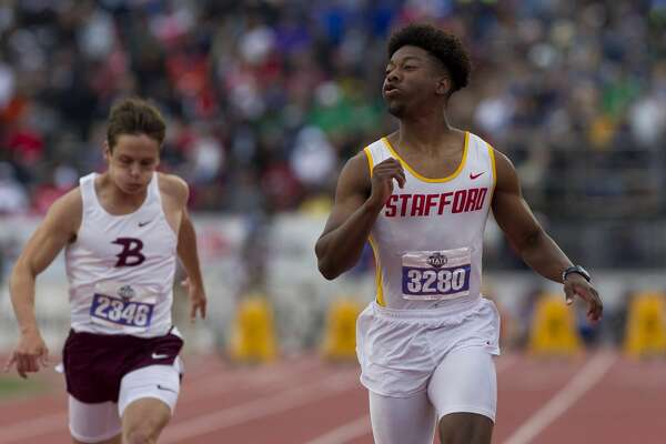 Stafford boys finish 2nd in 4A at state track meet