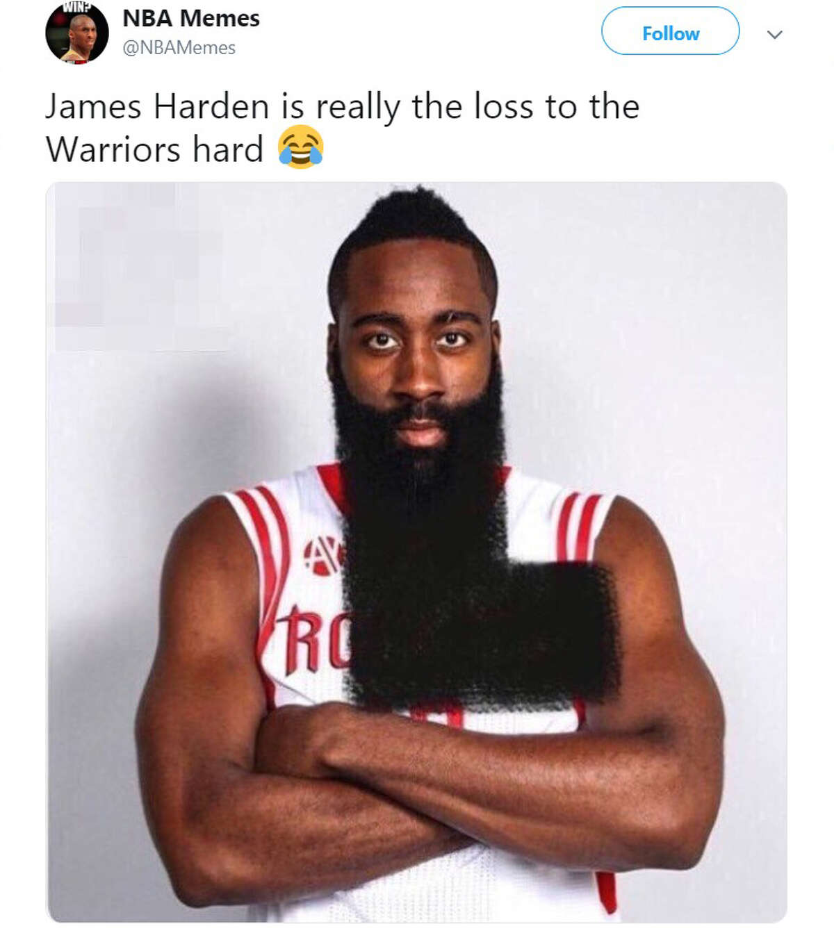 The Internet was not a nice place to be for Rockets fans after their team was eliminated by the Golden State Warriors again this weekend.