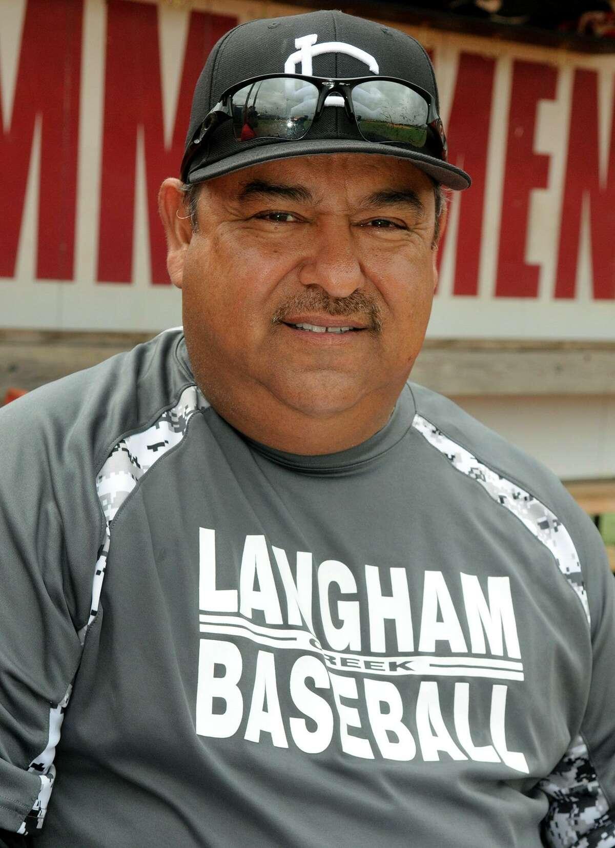 Langham Creek 29th year head baseball coach Armando Sedeño.
