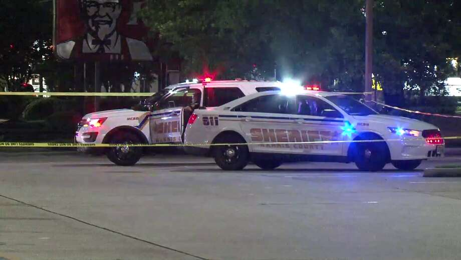 A security guard at a Walgreens on FM 1960 opened fire on two armed, masked men  Photo: Metro Video Services