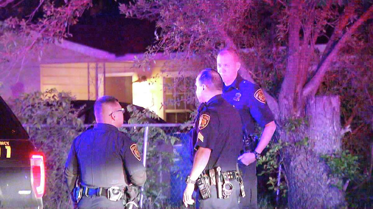 San Antonio police say one man was hospitalized overnight May 12, 2019, after being shot by who officers believe was his brother.