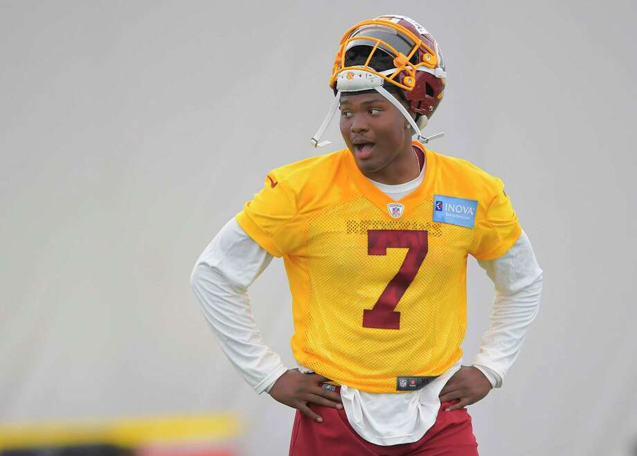 Redskins first-round draft pick quarterback Dwayne Haskins played just 22 collegiate games and only started one season. Photo: Washington Post Photo By John McDonnell / The Washington Post