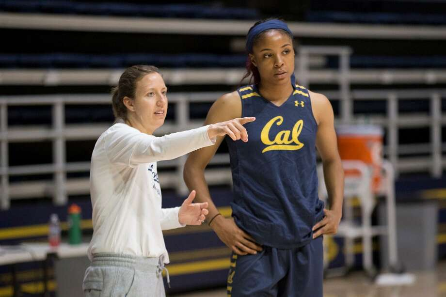 Cal head coach Lindsay Gottlieb has tutored Kristine Anigwe on her way to becoming the school's all-time leader in points and rebounds. Photo: Cal Athletics