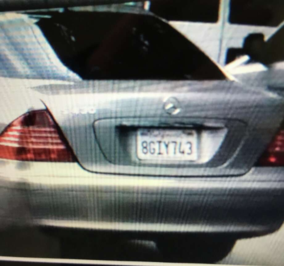 The suspect was spotted and pursued by authorities around 11:40 p.m., before crashing the vehicle, a silver 2005 Mercedes-Benz sedan, near the intersection of Carlson Boulevard and San Pablo Avenue before midnight after a short chase, police said.