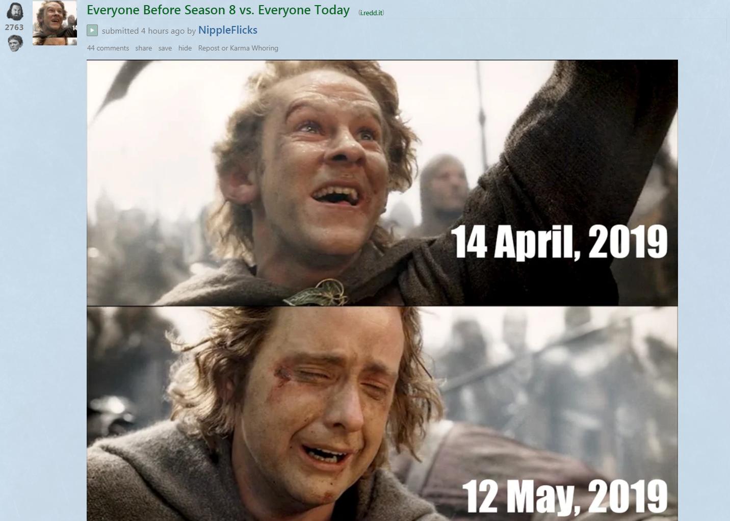 Memes, reactions to 'Game of Thrones' season 8, episode 5
