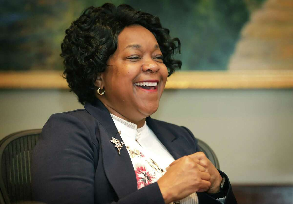 Paula Gold-Williams CEO of CPS Energy, on Tuesday, May 7, 2019.