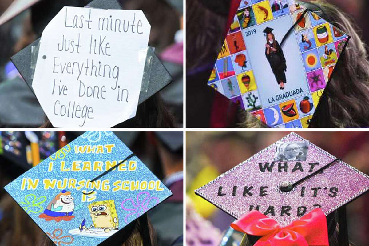 Click through the gallery to see the best graduation caps we saw at 2019 Spring commencement ceremonies.