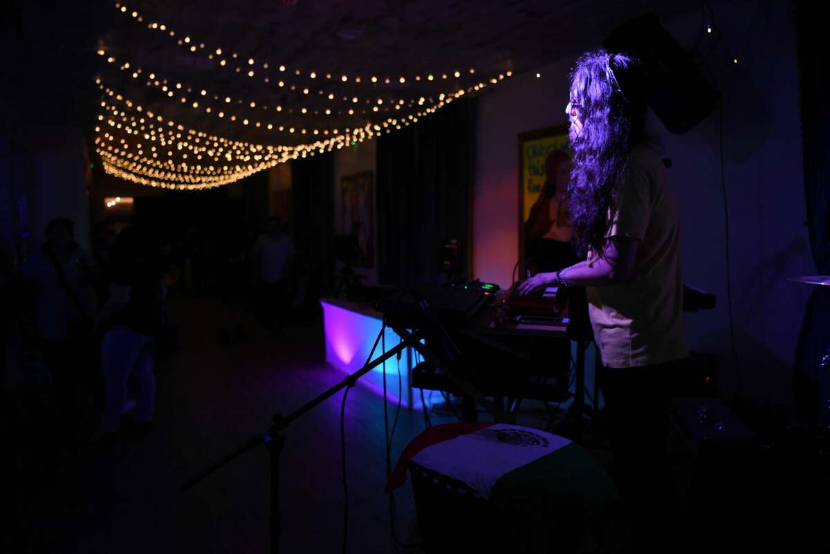 Djs, live bands and food and drink entertained attendees for the night during La Muy Muy event at Cultura Beer Garden.