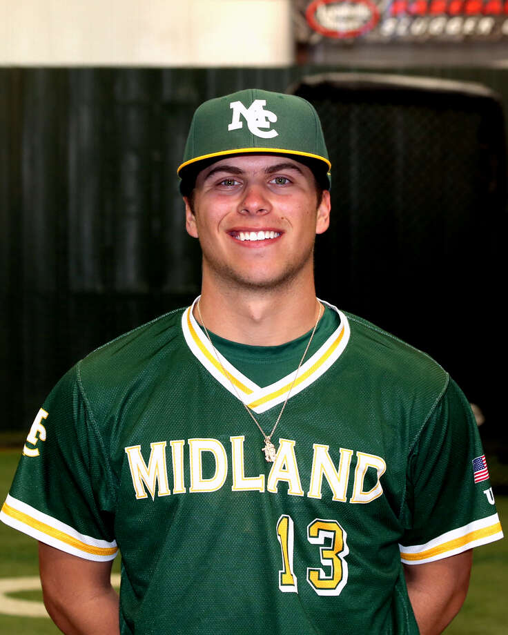 Midland College pitcher Brock Erculiani Photo: Forrest Allen| MC Athletics