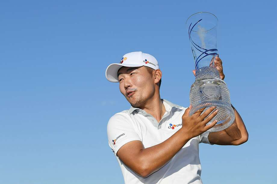 Sung Kang, on his 159th attempt, won a PGA Tour event for the first time. Photo: Stuart Franklin / Getty Images