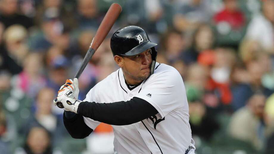 Miguel Cabrera leads the Tigers with 15 RBIs, and his career total of 1,650 leaves him two shy of Tony Perez for 31st place on the all-time list. Photo: Carlos Osorio, STF / Associated Press / Copyright 2019 The Associated Press. All rights reserved.