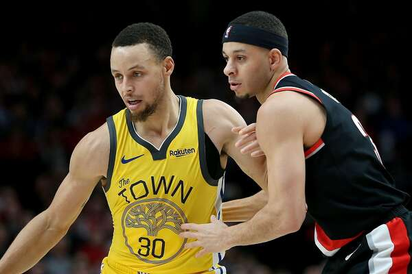 pretty nice f672c 2bbdd Steph Curry vs. Seth Curry: From driveway battles to NBA ...