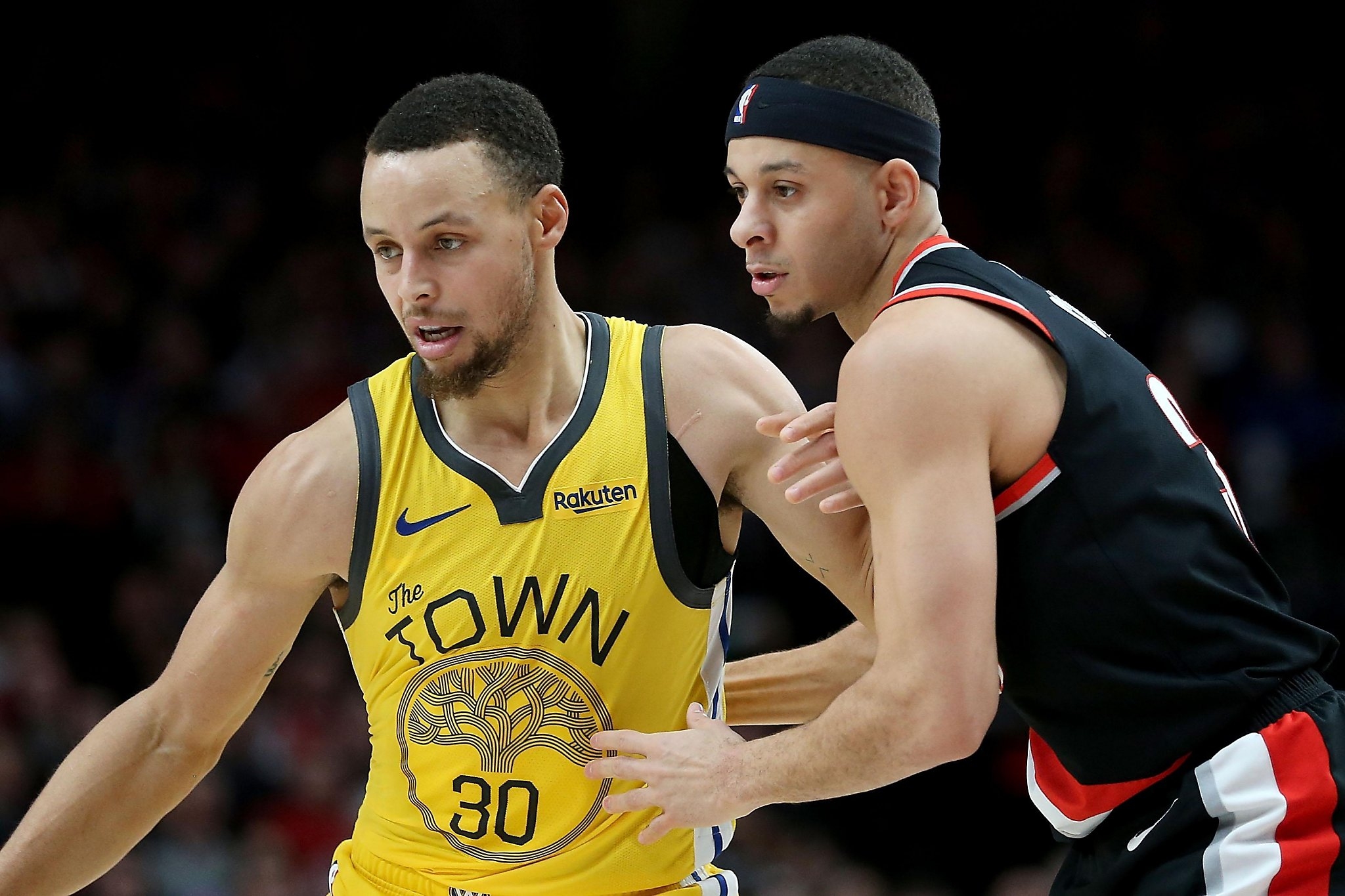Curry driveway  to NBA From vs. battles Steph Curry: Seth