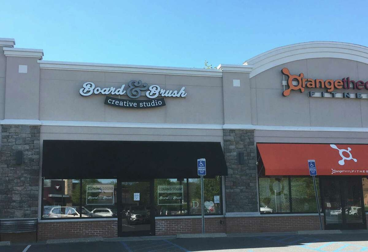 The 5 Eagle Road location of Board & Brush Creative Studio in Danbury, Conn., which holds its grand opening on May 29, 2019.