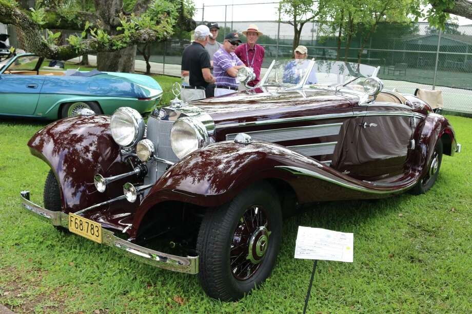 The 1936 Mercedes-Benz 500K roadster owned by Craig Hopkins of Cedar Hills, Texas captured best of show in the European category. (Photo courtesy of Keels & Wheels)