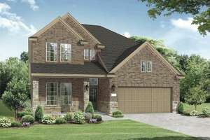 Chesmar Homes' 2,746-square-foot Mesquite plan is a two-story design featuring four bedrooms with a fifth bedroom/study option and three full baths.