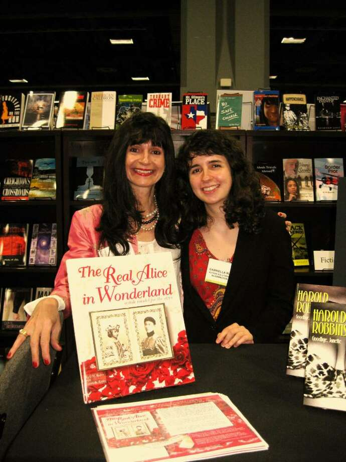 Mother and daughter C.M. Rubin, left, and Gabriella Rubin are the authors of a new book, The Real Alice in Wonderland: A Role Model for The Ages. In the book, the Easton residents describe their ancestor Alice Liddell's ties to the literary classic. Photo: Contributed Photo / Fairfield Citizen