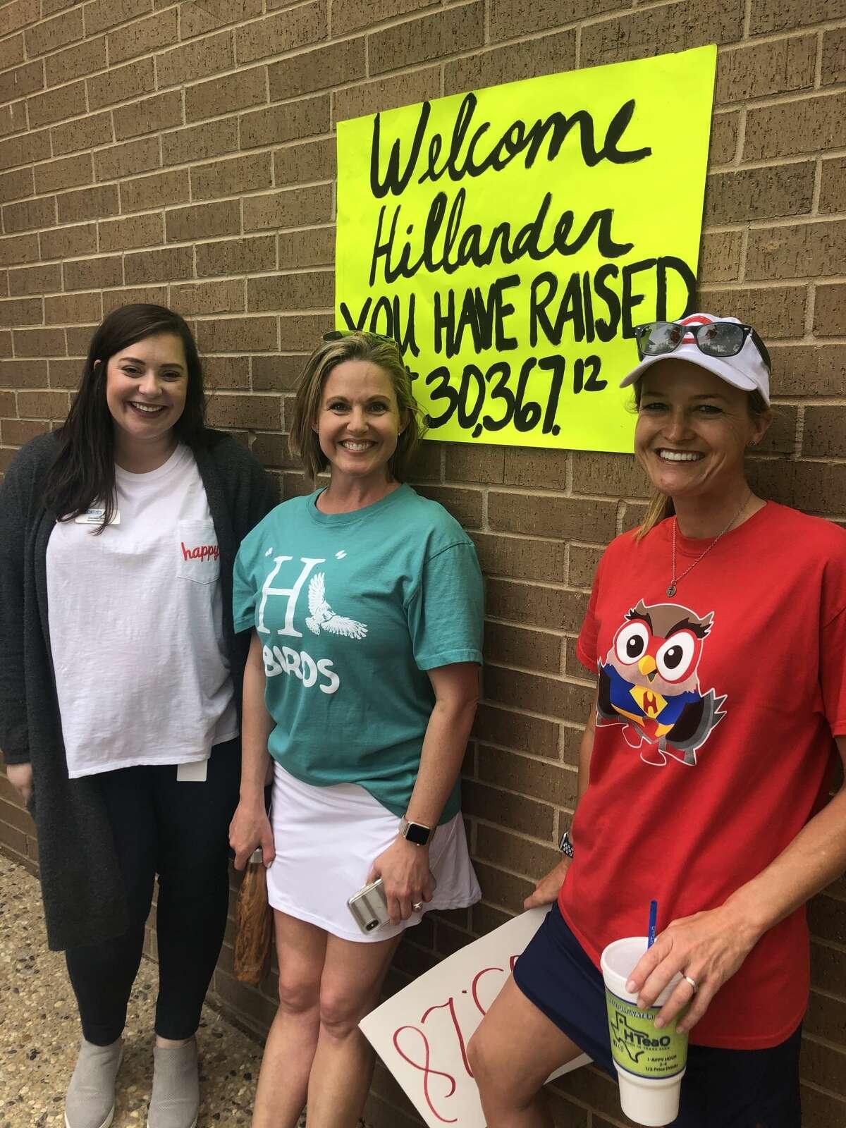 Hillander-MCRC: Cecelia Quinn, from left, Jessica Nosek and Becca Heidelberg
