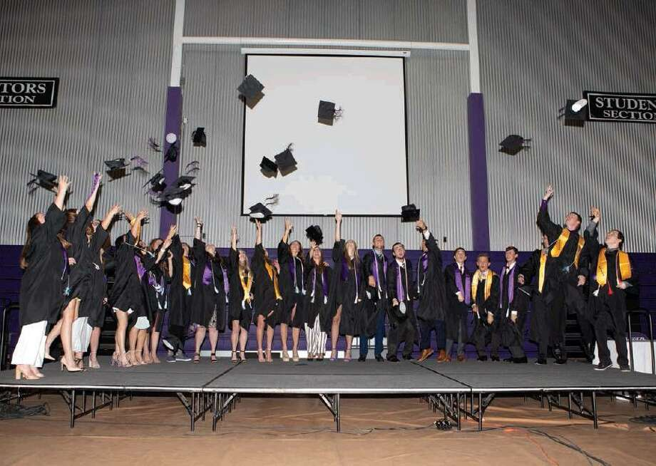 The Midland Classical Academy's graduation was held on Saturday. Photo: Mindy Drummond Photography