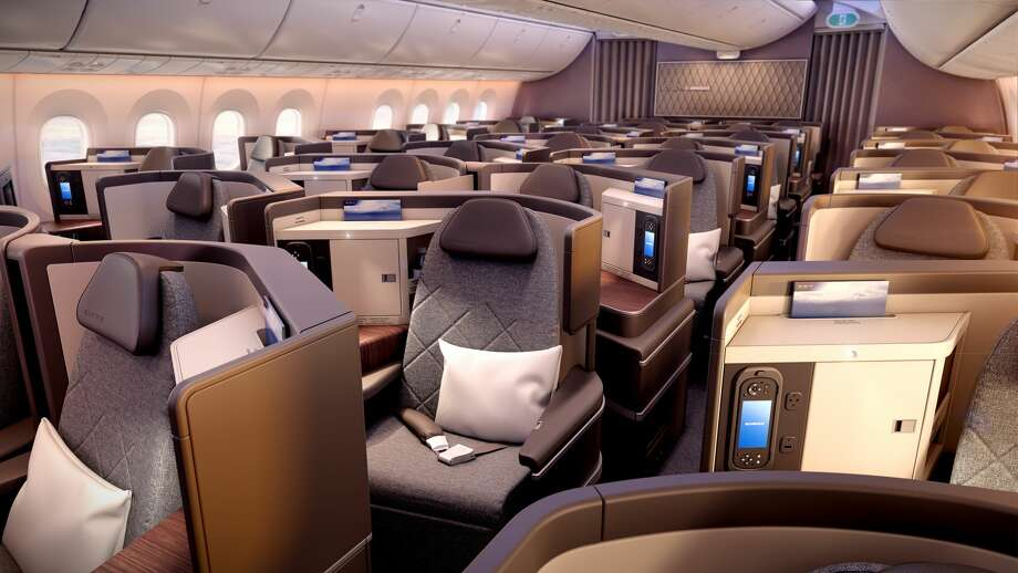 Business class on El Al's new Dreamliner flights between SFO and TLV Photo: EL AL