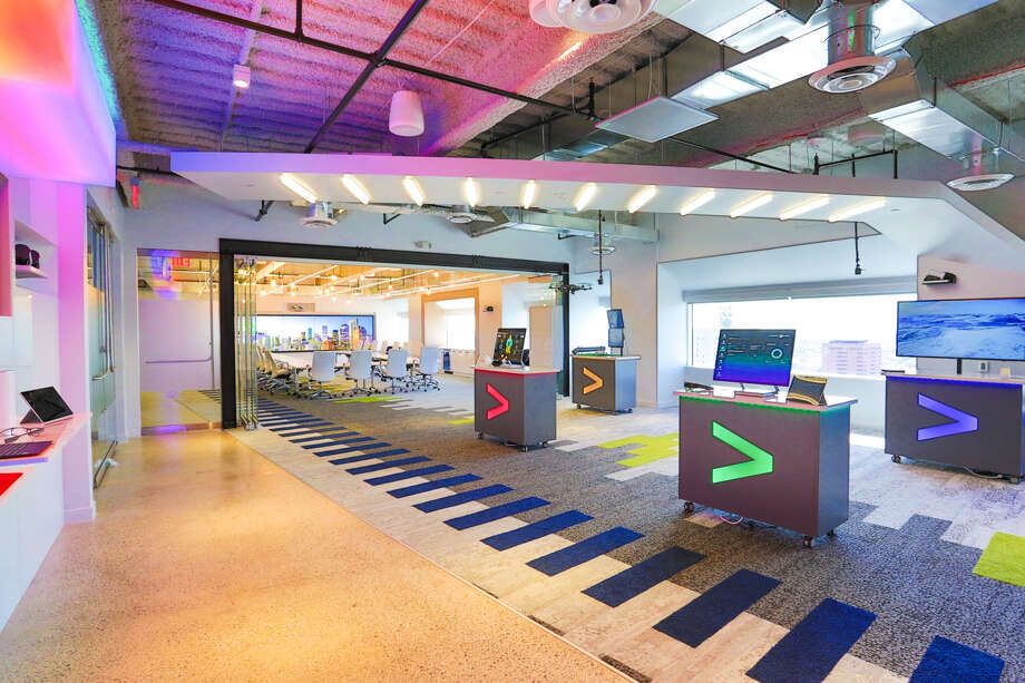 Pictured is Accenture's innovation hub in downtown Houston. Photo: Accenture