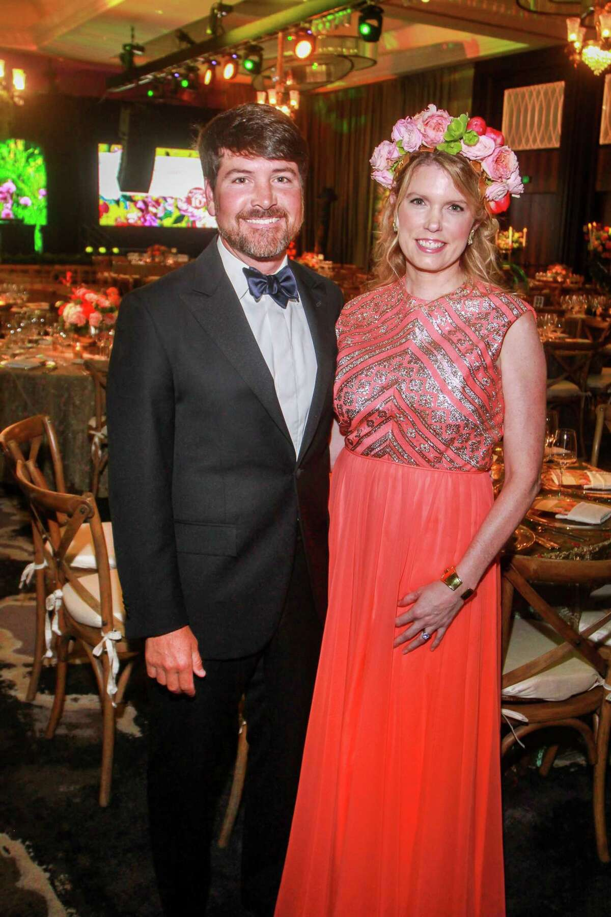Chairs Bill and Courtney Toomey at the Houston Symphony Ball.