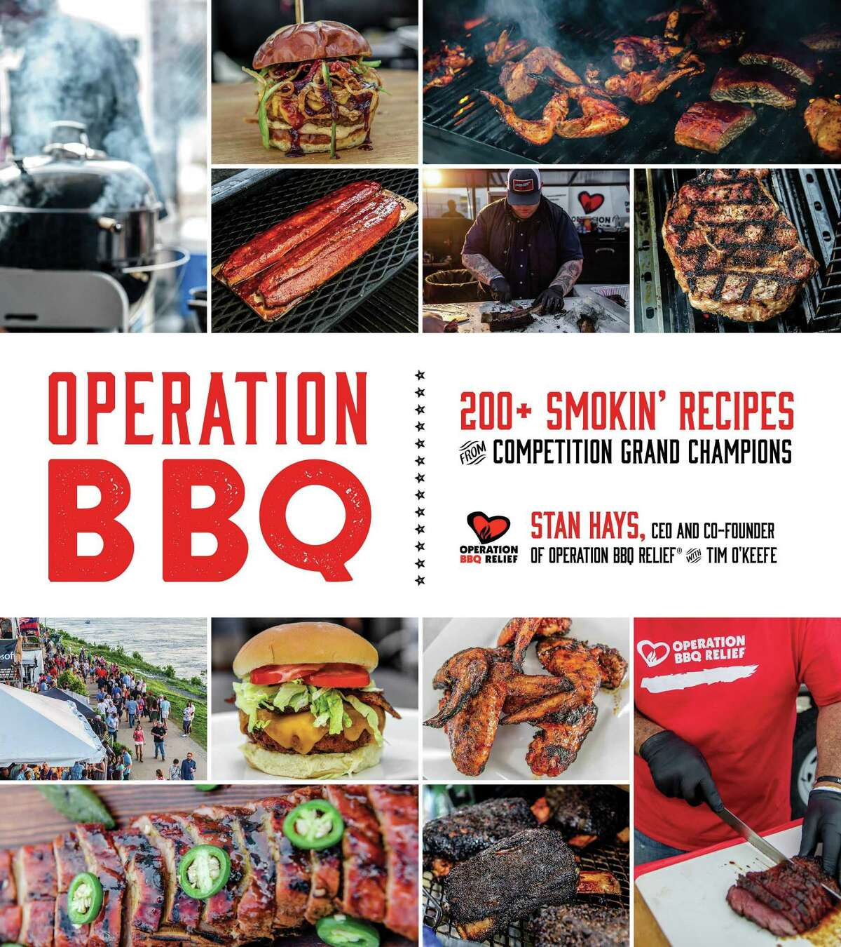 """Cover:""""Operation BBQ: 200+ Smokin' Recipes from Competition Grand Champions"""" by Stan Hayes with Tim O'Keefe (Page Street Publishing, $30)."""