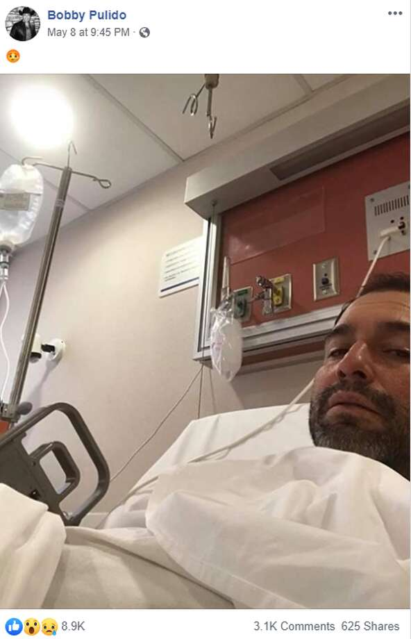 "Last Wednesday, the 46-year-old posted a photo from a hospital bed. No additional information was provided, aside from an emoji depicting an illness. Fans of the ""Desvelado"" singer quickly replied with well wishes and prayers. Some asked what caused the hospital stay. Photo: Facebook Screengrab"