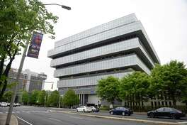 Hedge fund Sunriver Management has relocated its main offices to downtown Greenwich, Conn., from this building at 201 Tresser Blvd., in Stamford, Conn., according to U.S. Securities & Exchange Commission records. 201 Tresser also houses the main offices of Purdue Pharma.