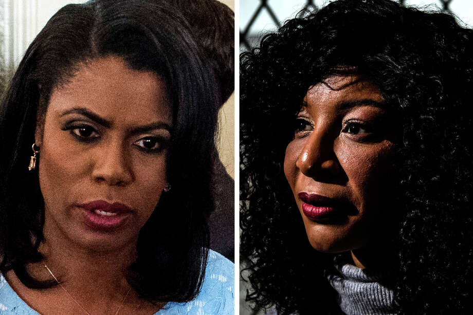 Omarosa Manigault, left, and Alva Johnson. Photo: Washington Post Photos By Jabin Botsford And Salwan Georges / The Washington Post