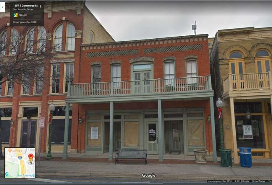 Lilly's Greenville will open in late May at 1160 E. Commerce St. inside St. Paul's Square. The bar will be the fifth San Antonio bar project from developer Steve Mahoney. Photo: Google Maps
