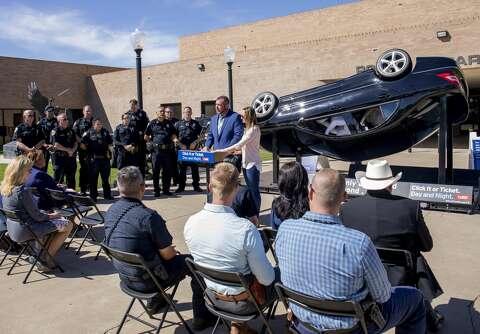TxDOT unveils display in memory of Texas teen's death, kicks