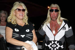 Duane Lee Dog Chapman and Beth Chapman are seen on November 26, 2018 in Los Angeles.