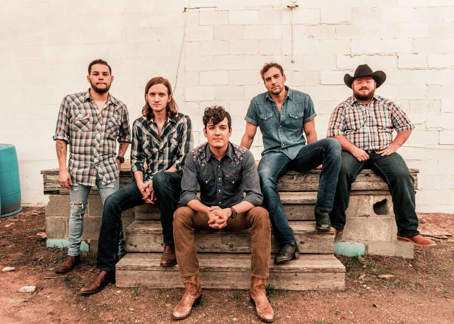 Jonathan Saenz (from left), Reid Dillon, Cleto Cordero, Jason Albers and Wesley Hall of Flatland Cavalry. Photo: Courtesy Photo