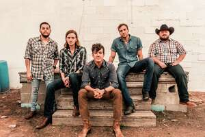 Jonathan Saenz (from left), Reid Dillon, Cleto Cordero, Jason Albers and Wesley Hall of Flatland Cavalry.
