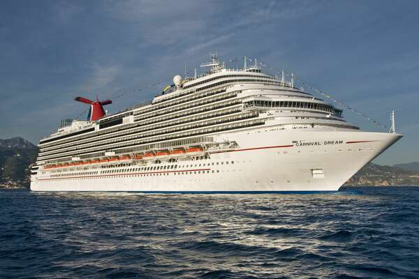The 130,000-ton Carnival Dream, Carnival Cruise Lines?• largest ship, is positioned off the coast of Monaco in October 2009. FOR EDITORIAL USE ONLY (Photo by Andy Newman/Carnival Cruise Lines/HO)