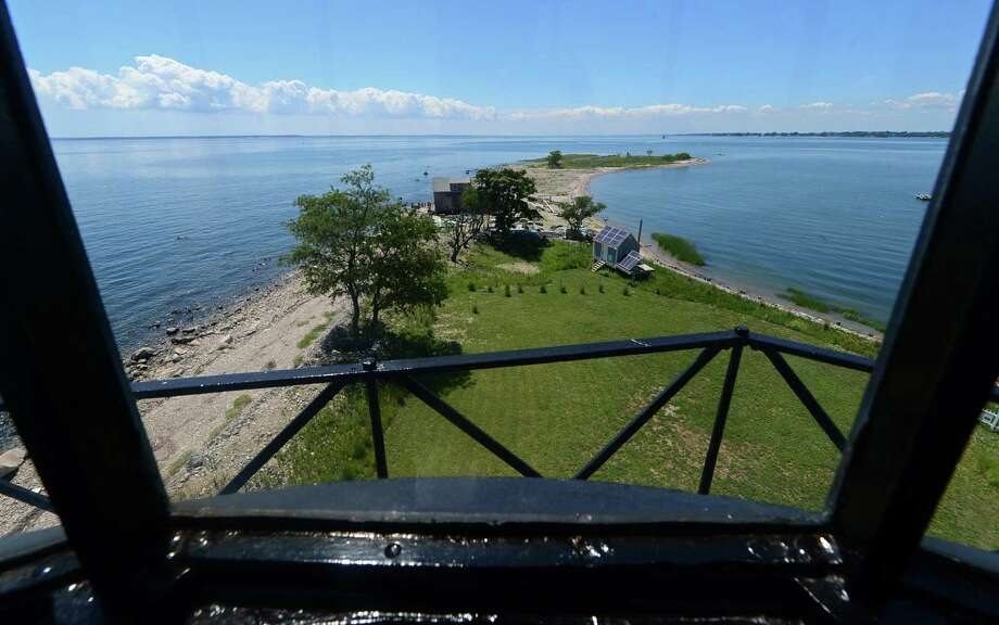 A view of theSheffield Island's Southwest point from the Sheffield Island Lighthouse in Norwalk. Photo: Hearst Connecticut Media File Photo / Norwalk Hour