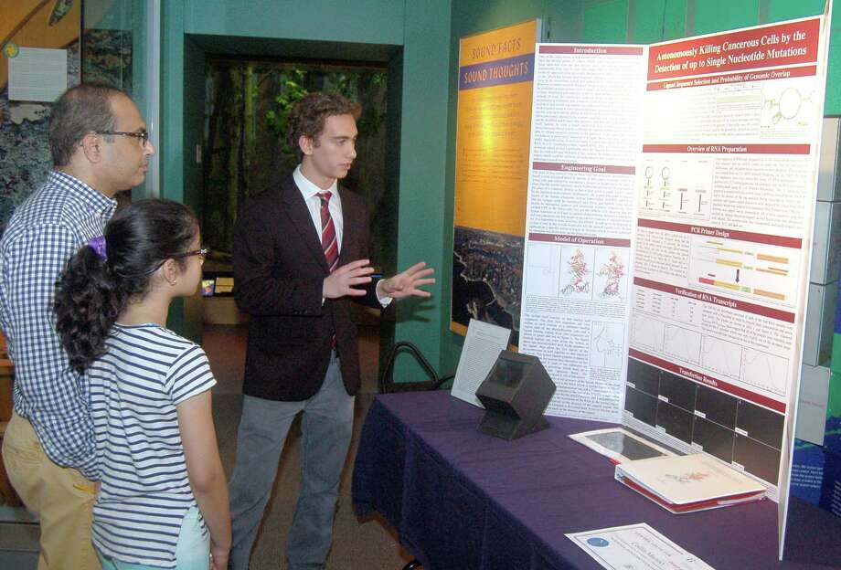 "The public is invited to attend ""Phenomenon: Science Innovation Fair"" at Greenwich's Bruce Museum May 31. Above is a scene from last year's event. Photo: The Bruce Museum / Contributed Photo"