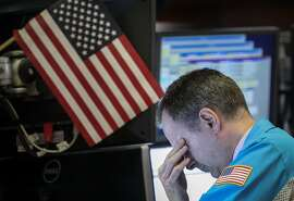 NEW YORK, NY - MAY 13: Traders and financial professionals work ahead of the closing bell on the floor of the New York Stock Exchange (NYSE), May 13, 2019 in New York City. U.S. markets were down sharply on Monday following an announcement by China that t