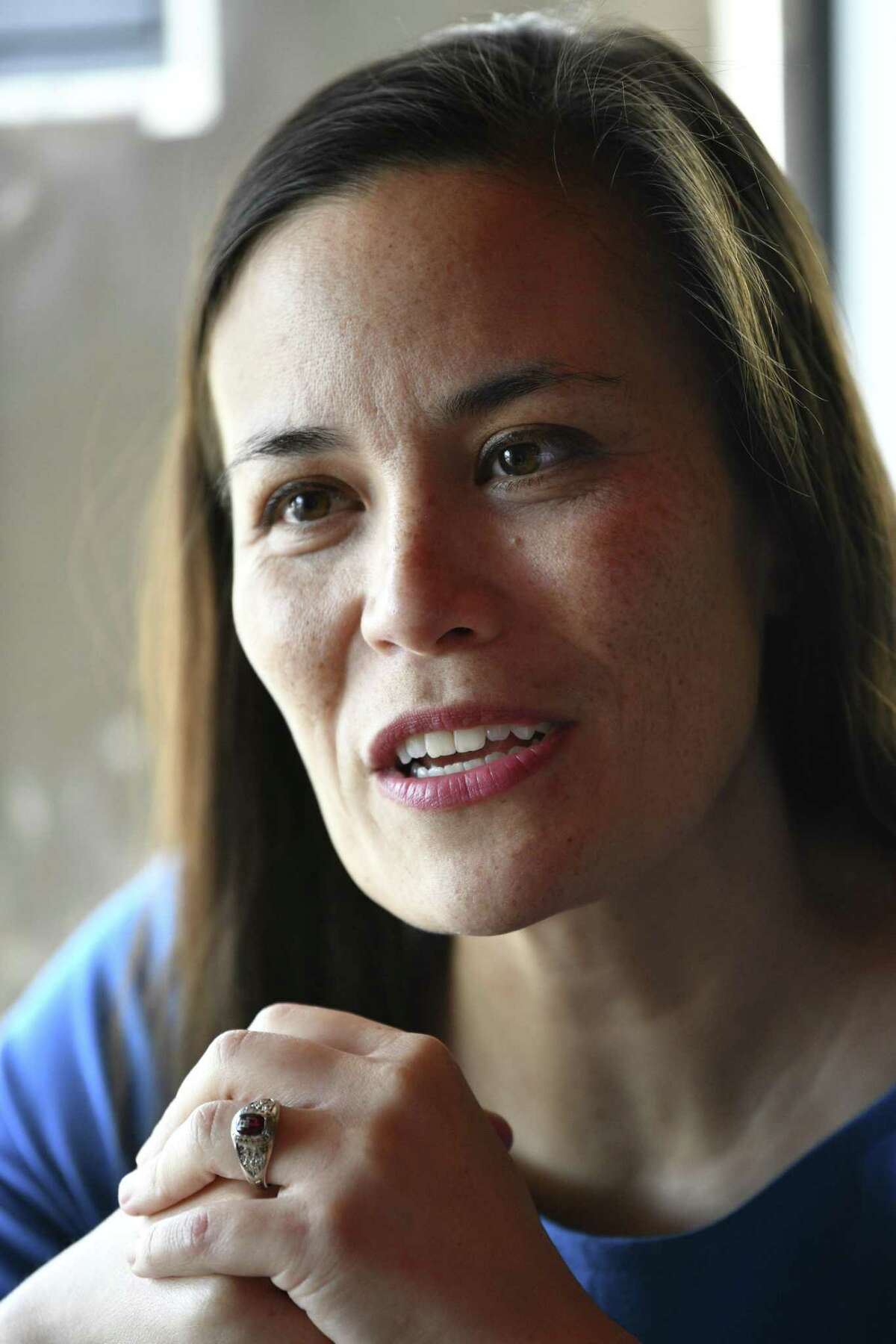Democrat Gina Ortiz Jones, a former Air Force intelligence officer and Iraq War veteran, plans to run again against U.S. Rep. Will Hurd, R-San Antonio, in 2020. She was narrowly defeated in 2018 by Hurd, who is in his third term as a U.S. congressman from the 23rd Congressional District race.