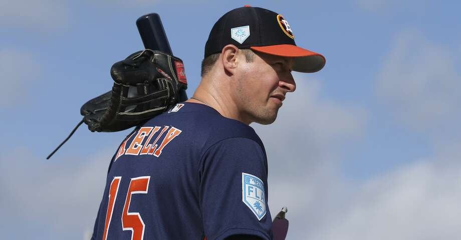 PHOTOS: Astros players' contract situation during 2019-20 offseason Houston Astros first base coach Don Kelly (15) heads toward the fields to start the first full-squad practice at Fitteam Ballpark of The Palm Beaches on Monday, Feb. 18, 2019, in West Palm Beach. >>>A look at the contract situation for each Houston Astros player this offseason ... Photo: Yi-Chin Lee/Staff Photographer
