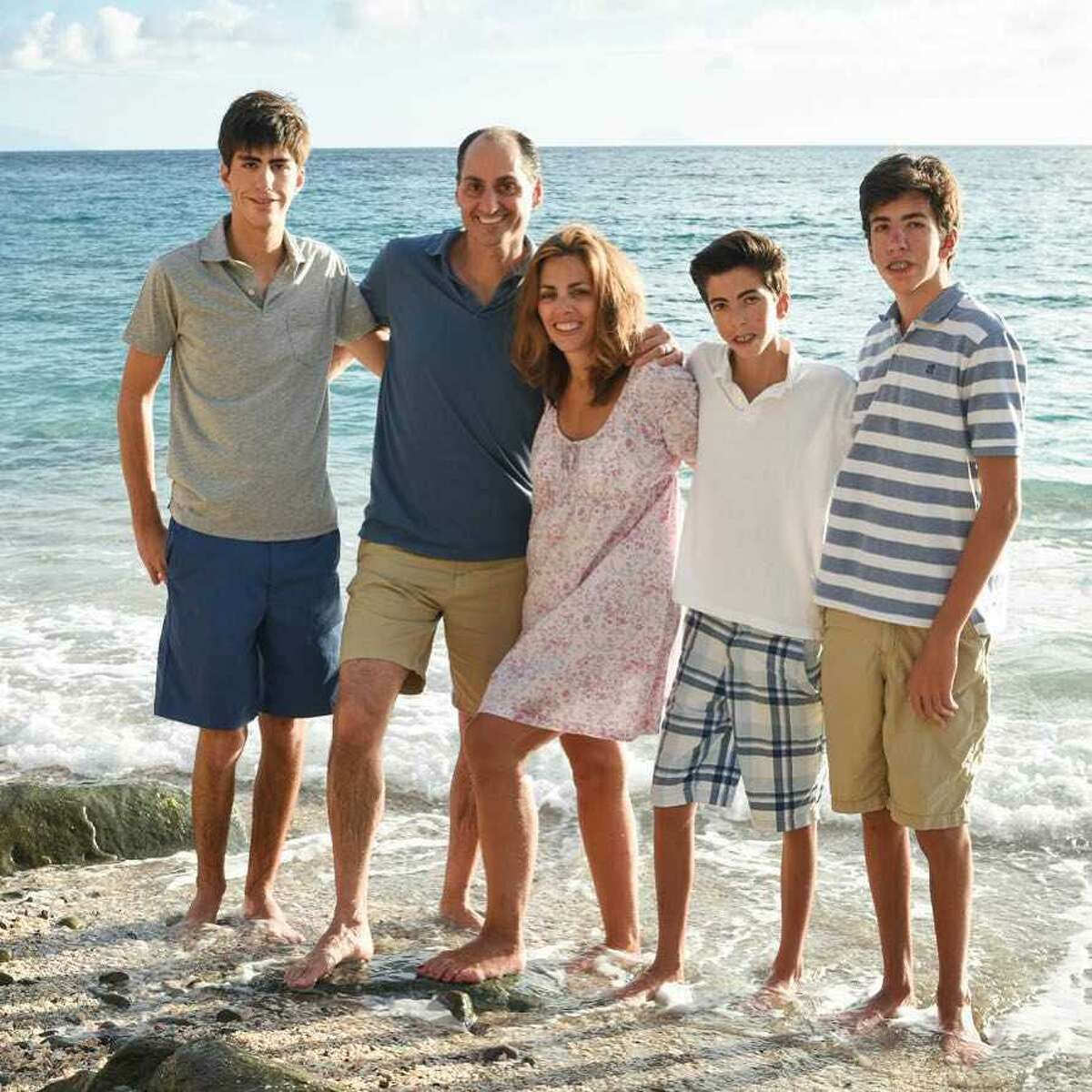 Lisa Lori of Greenwich began fundraising for Operation Smile after her three sons -- Zack (18), Luke (16), and Griffin (15) were born with physical challenges.