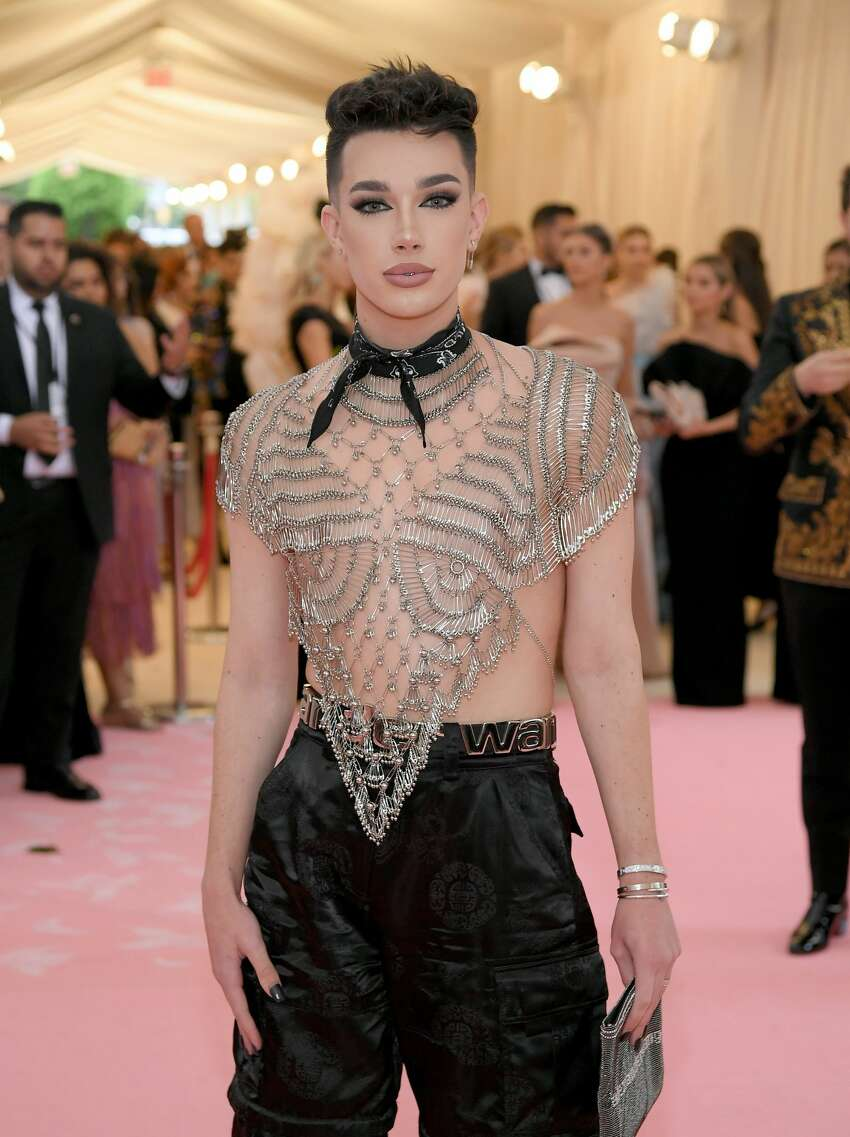 NEW YORK, NEW YORK - MAY 06: James Charles attends The 2019 Met Gala Celebrating Camp: Notes on Fashion at Metropolitan Museum of Art on May 06, 2019 in New York City. (Photo by Neilson Barnard/Getty Images)