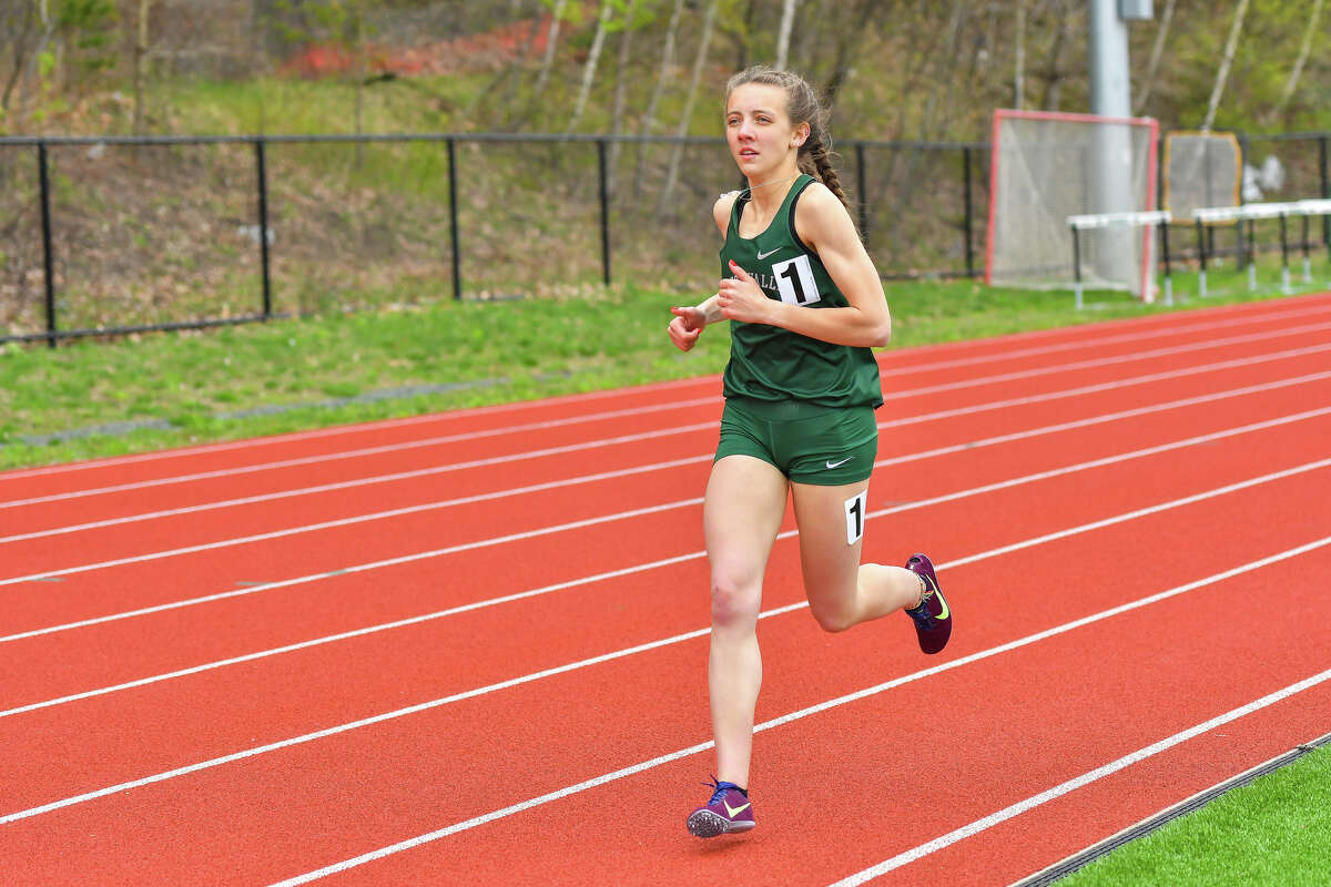 Ballston Spa High graduate Mercedes Planavsky of the Hudson Valley Community College track and field team. (Courtesy of HVCC)