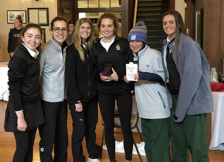 Greenwich Academy placed second at the Pippy O'Connor Independent School Golf Tournament — also known as the NEPSAC Championships — on Monday. Photo: Contributed Photo / Contributed Photo / Greenwich Time Contributed