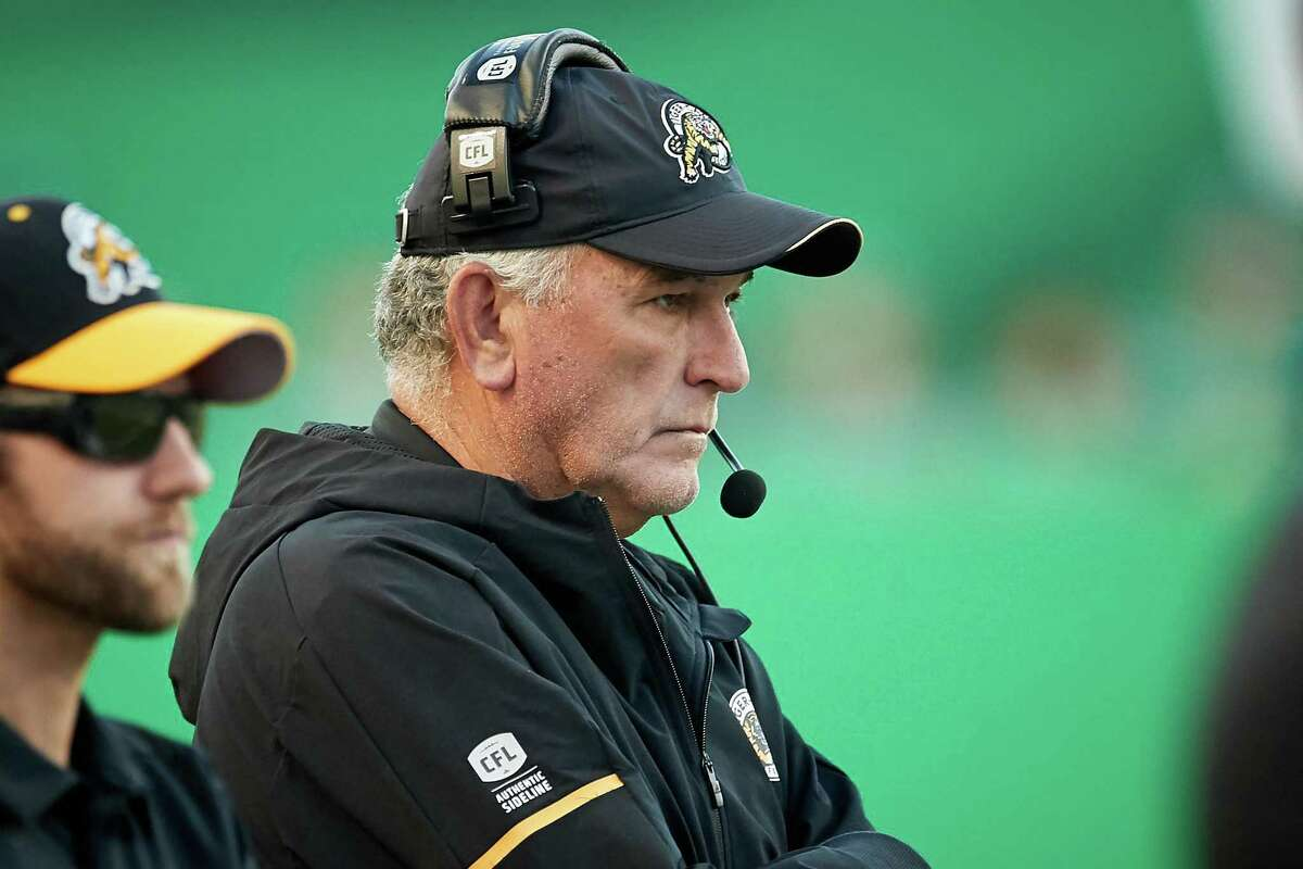 June Jones is leaving the Hamilton Tiger-Cats in Canada to coach the new Houston XFL team.