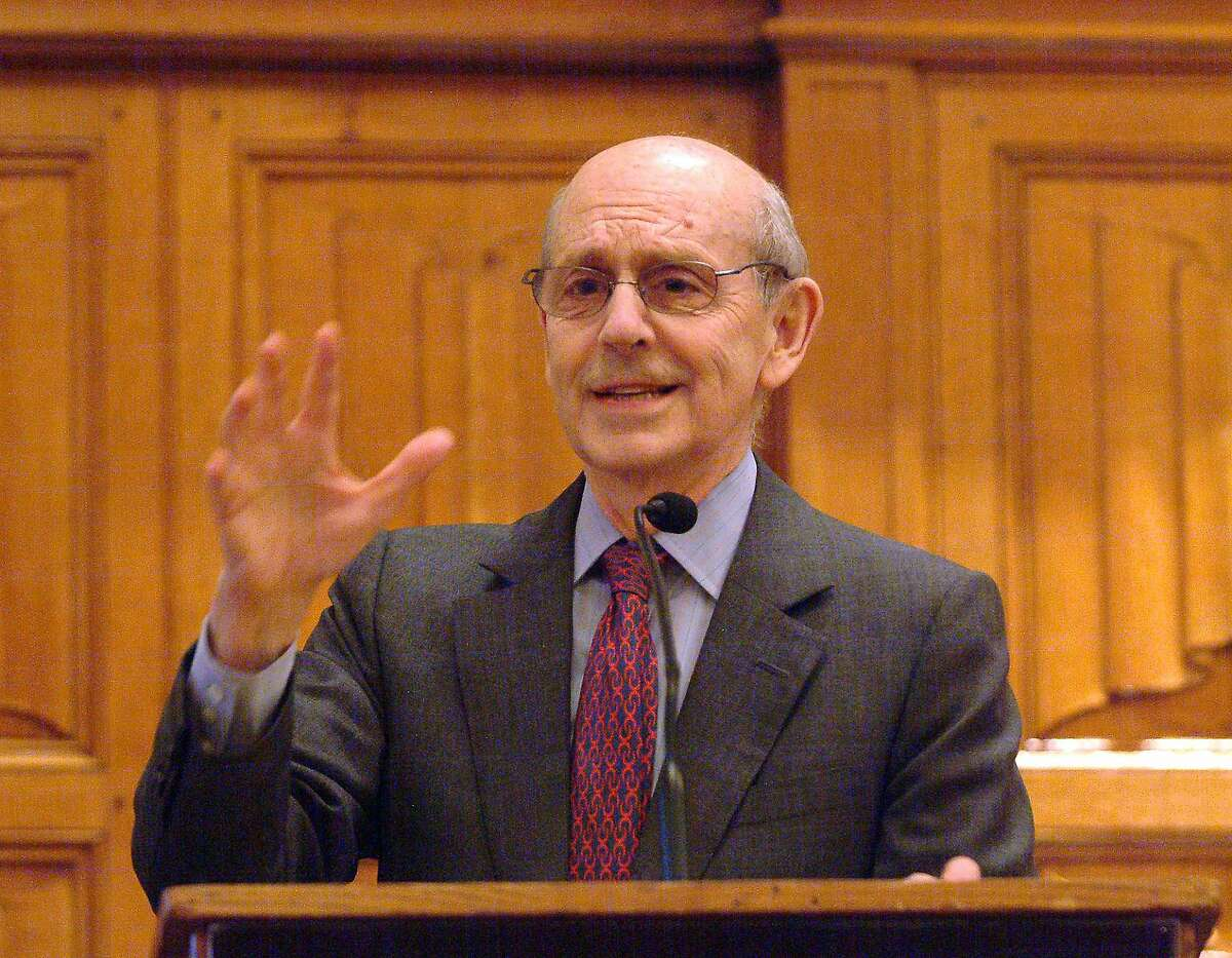 Supreme Court Justice Stephen Breyer says court proceedings are different now that they are conducted remotely.