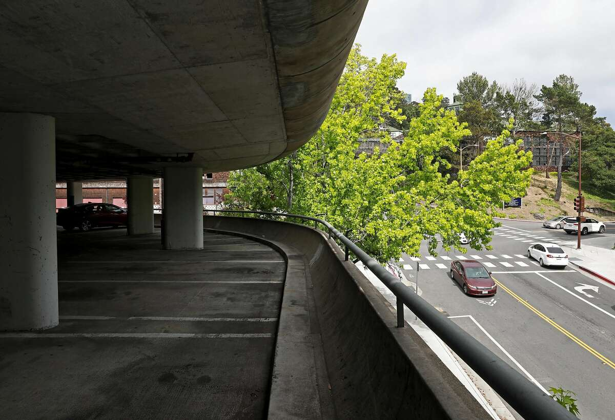 Interior of the Upper Hearst parking structure at the University of California, Berkeley, in Berkeley, Calif., on Saturday, May 12, 2019. UC Berkeley has a housing proposal that would replace the parking garage at Hearst Ave. and La Loma Ave.