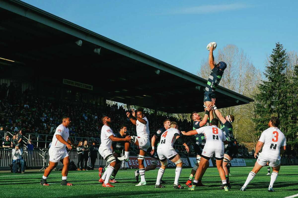 The Seattle Seawolves play the San Diego Legion at Starfire Sports, March 31, 2019.
