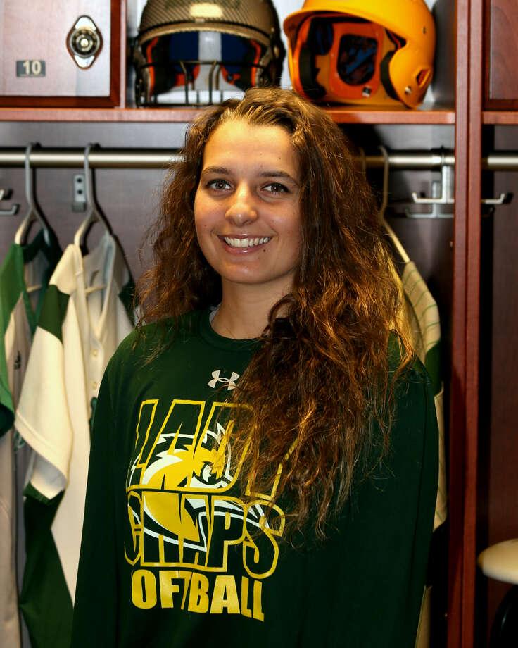 Midland College softball player Mackenzie Hoots Photo: Forrest Allen,  MC Athletics